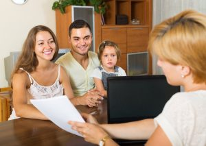 Locum Social Worker assessing foster care applicants.