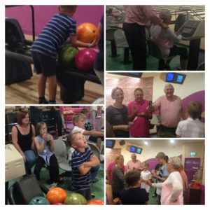 Catterall Challenge Cup bowling night at South Central August 2016